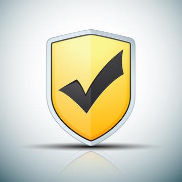 Checkmark Shield sign