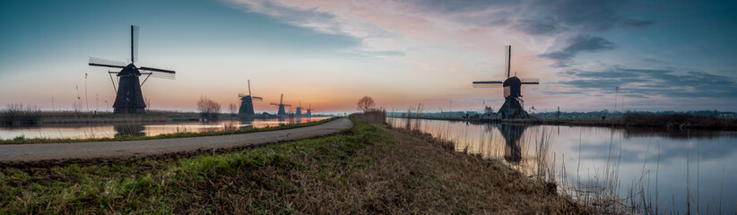 Kinderdijk in holland