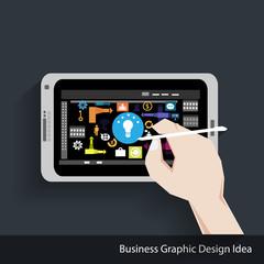 Vector Business Graphic Design Idea