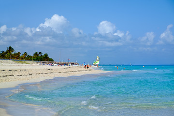 Wall Mural - The beautiful beach of Varadero in Cuba