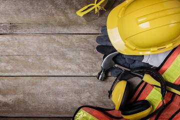 Standard construction safety equipment