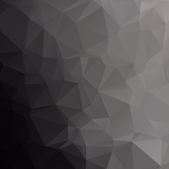 Black carbon background abstract polygon.