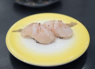 Japanese Hotate sushi (Scallop)