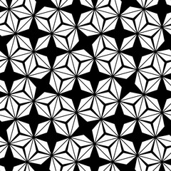 Vector hipster abstract sacred geometry pattern, black and white seamless geometric background, subtle pillow and bad sheet print, creative art deco, simple texture, modern fashion design