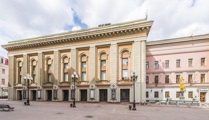 Theatre named after E. Vakhtangov in Moscow.