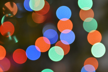 Abstract background bokeh.