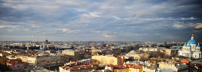 View of St. Petersburg from the roof