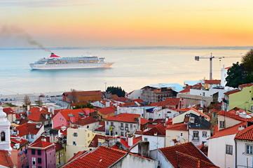 Lisbon bay, Portugal