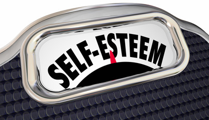 Self Esteem Confidence Assured Attitude Scale Words