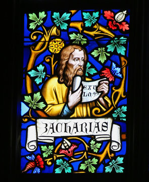 Stained Glass - Zechariah