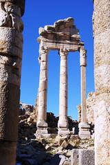 Ruins of Faqra, Lebanon
