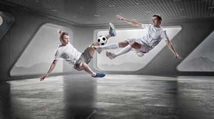Football game players