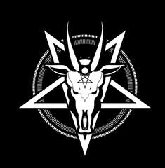 pentagram symbol goat