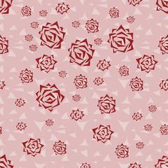 Seamless pattern flowers background.