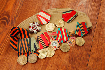 Memory of awards and medals of World War II and Great Patriot War orders