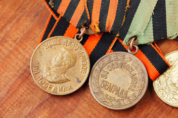 Awards of the ussr. orders of the great patriotic war