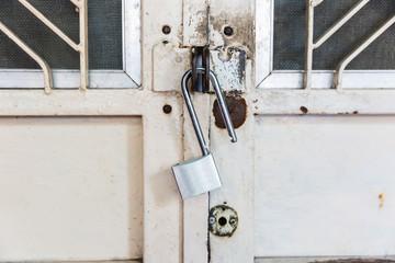 key on the door