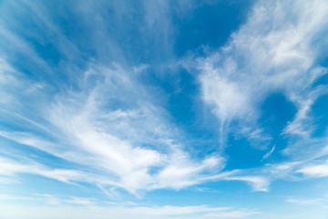 white, soft clouds