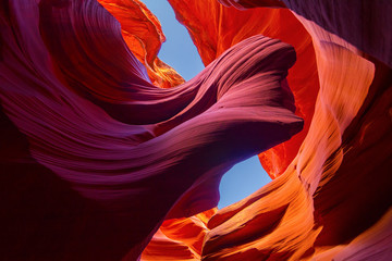Spoed Fotobehang Canyon Lower Antelope Slot Canyon Arch