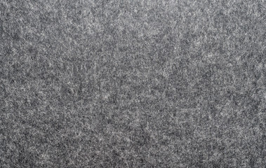 felted fabric dark gray color