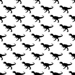 Dinosaurs jurassic pattern seamless