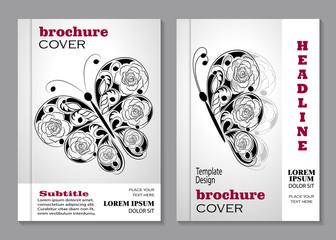 Modern vector templates for brochure