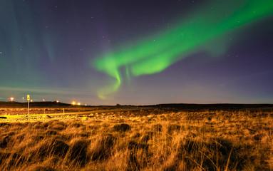 Northern Lights Nordlichter Aurora Island