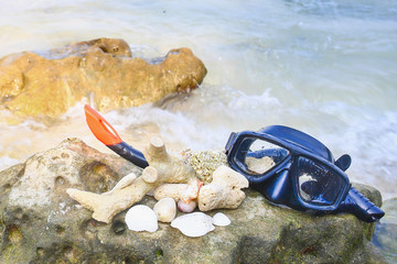 sea, sand and scuba diving