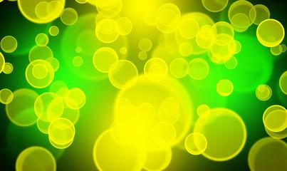 żółte i zielone bańki