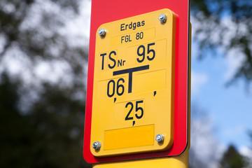 Erdgaszeichen