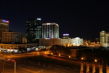 Downtown Late Night Photo Norfolk