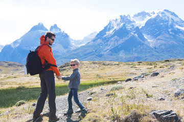 family on patagonia