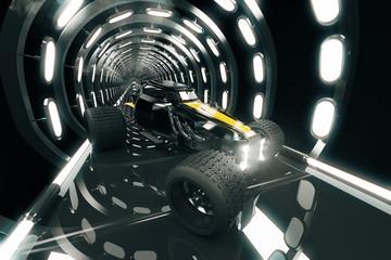 Hot-Rod in tunnel side