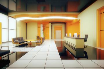 Orane business interior