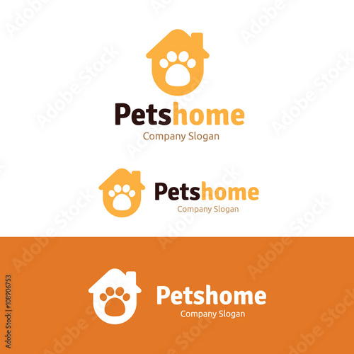quotpets logodog logopet shop logo templatequot stock image