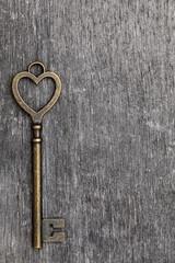 ハート型の鍵