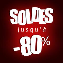 Soldes jusqu'à -80%