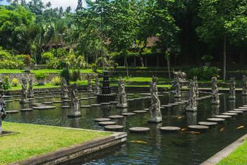 Tirta Gangga Water Palace in the Kingdom of Karangasem.