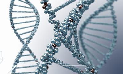 DNA research background