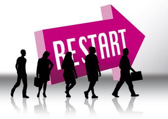 restart career