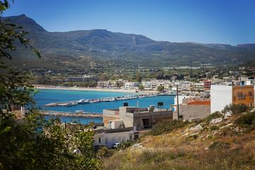 Town of Sitia Crete