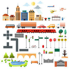 City Design Elements Icons