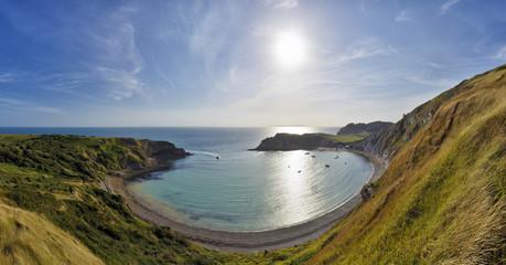 England, Jurassic Coast, Dorset, Lulworth Cove