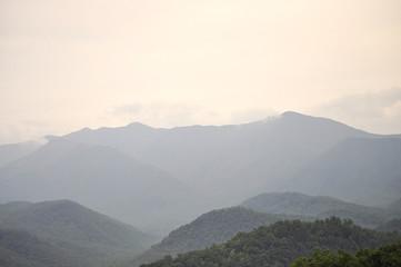 Canvas Prints Hill Smoky Mountains