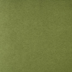 Suede dark lime  leather texture. Close up, top view.