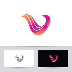 Flying V Bird Logo