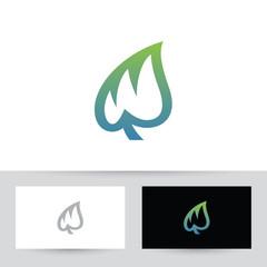 Leaf W Logo