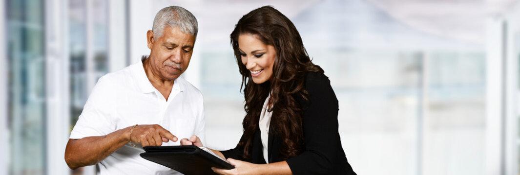 Female Insurance Agent