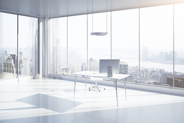 Office with NY view side