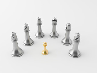 3d chess figur